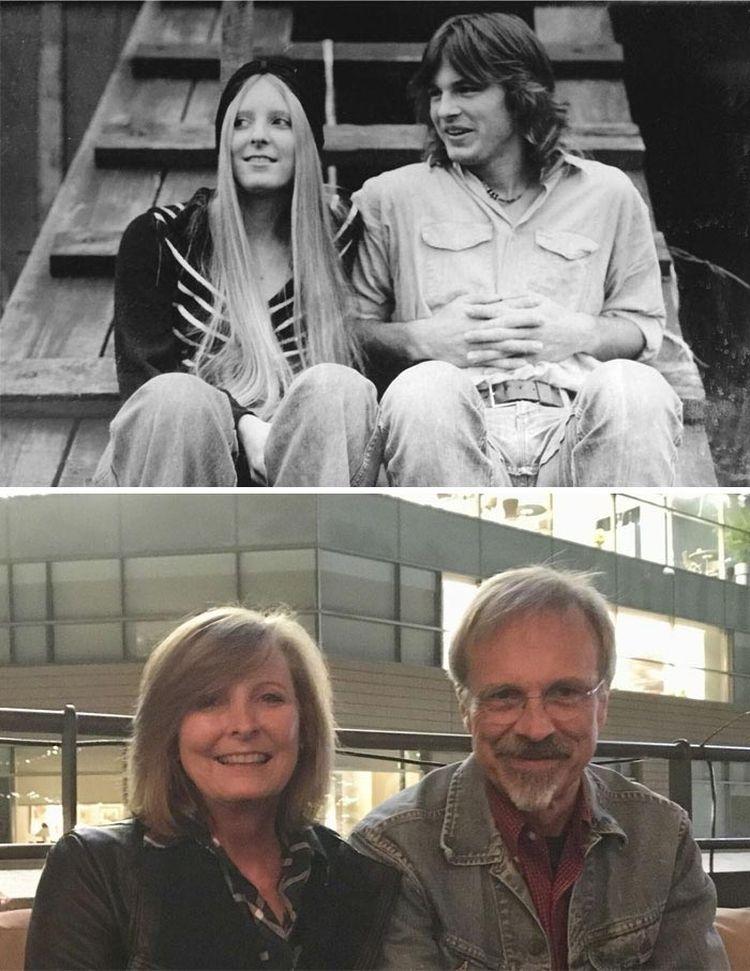 Спустя 40 лет эта пара всё ещё вместе