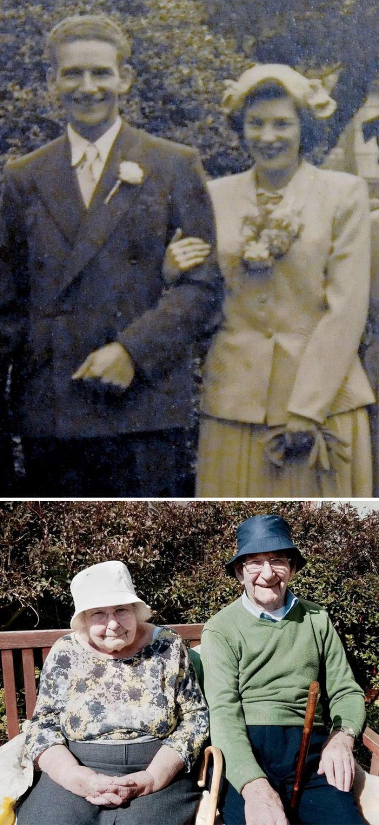 Эта пара вместе на протяжении 70 лет