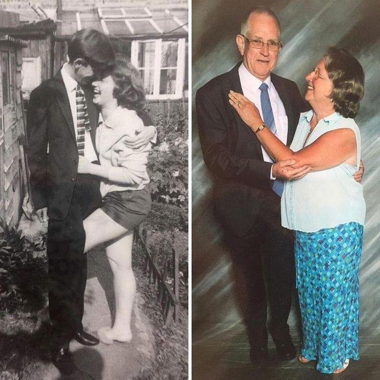 «Мои бабушка и дедушка, которые вместе вот уже 50 лет»