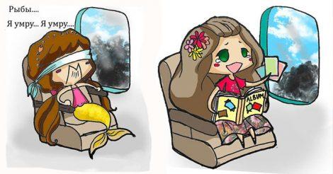 крушения самолета