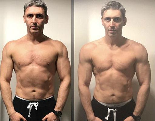 Слева — 6-я неделя, справа — 7-я неделя