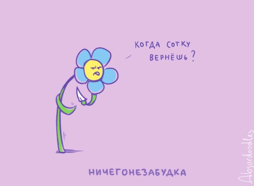 1. Я прощу, а вдруг цветы простить не смогут никогда