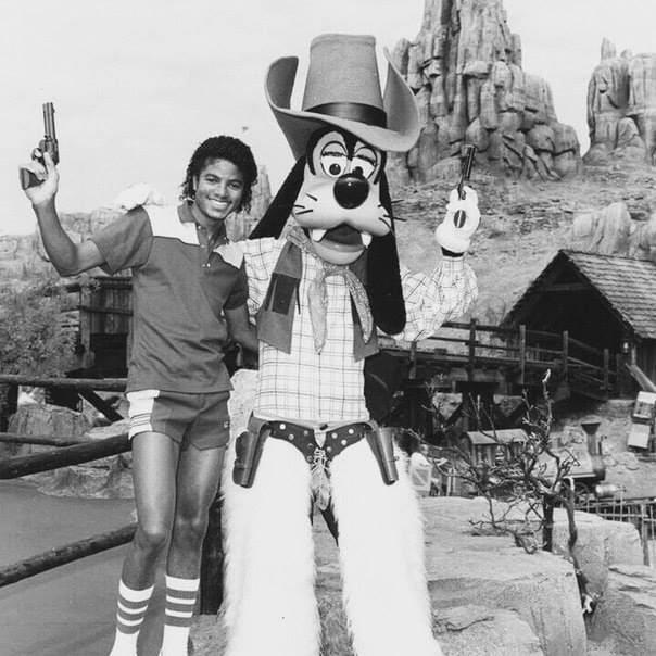 2. Майкл Джексон и Гуффи, 1980