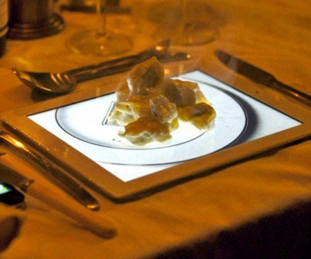 7. Что может быть лучше тарелки? Фотография тарелки на Ipad!