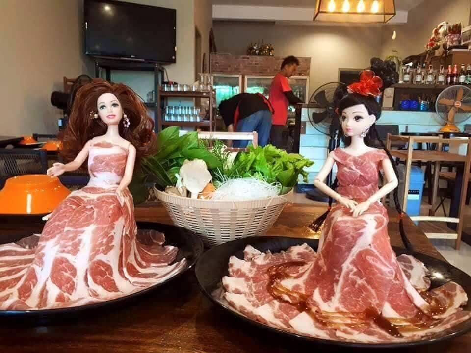 8. Ужин настоящей принцессы