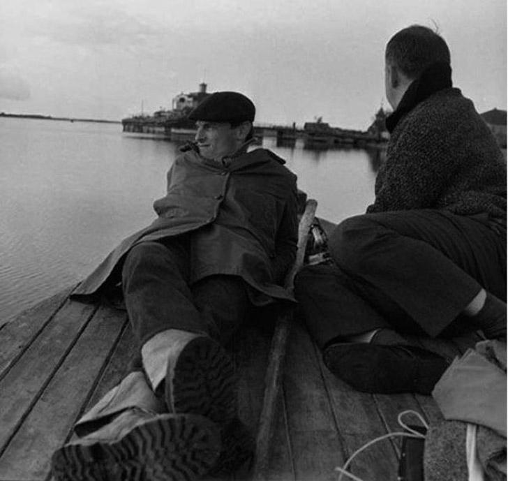 5. Андрей Тарковский. Фотограф — А. Виханский.