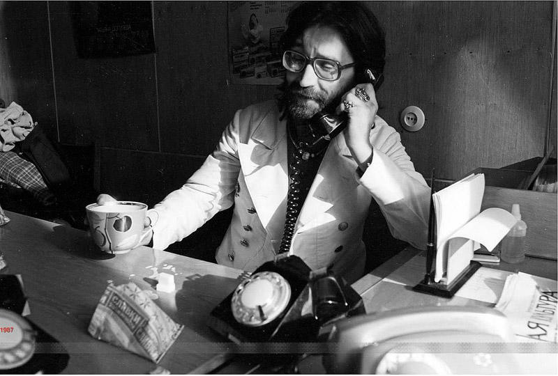 13. Юрий Шевчук, Москва, 1987 год. Фотограф — Игорь Мухин.