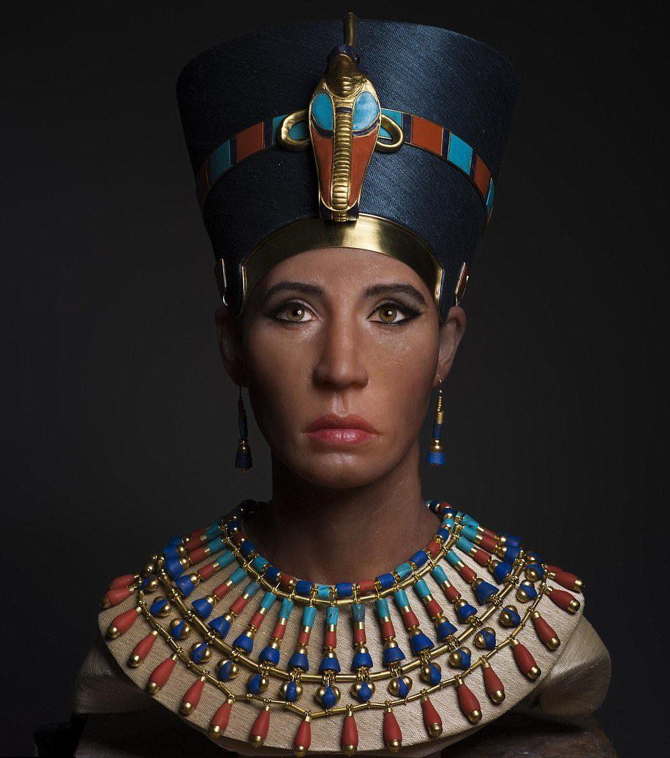 Используя новейшую 3D-технологию, учёным удалось создать точную копию лица древней правительницы