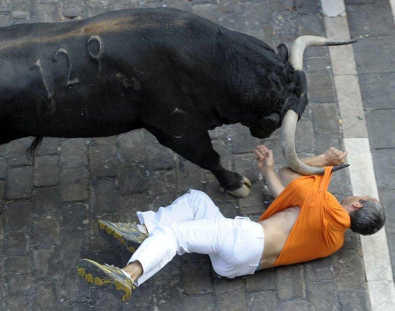 30. Лучше не связываться с быками