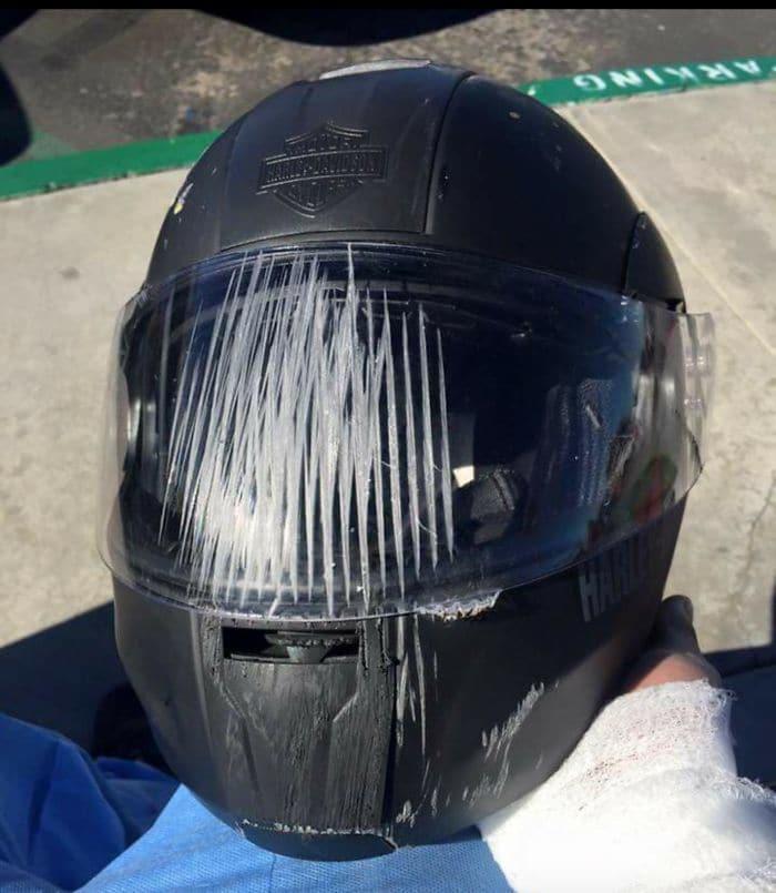 4. Ежедневное напоминание не забывать шлем