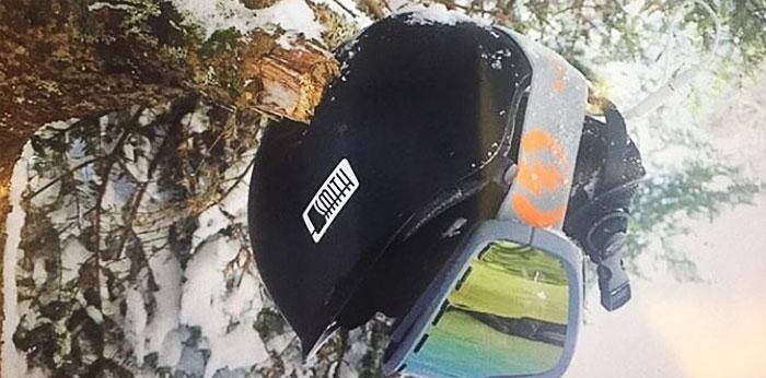 11. Не стоит забывать шлем и при катании на лыжах