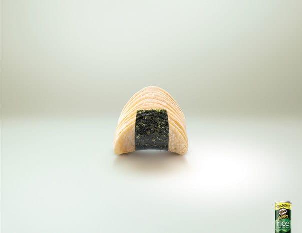 10. Pringles – рисовые чипсы