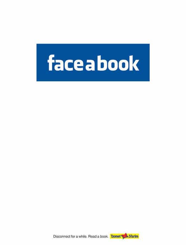 19. Face a book. Игра слов дословно переводится как лицо в книгу. Отключитесь на некоторое время от соцсетей. Прочитайте книгу