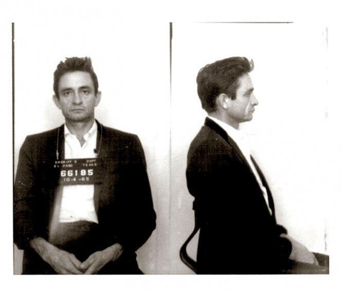 Джонни Кэш (Johnny Cash) – 1965 (перевозка запрещенных препаратов).