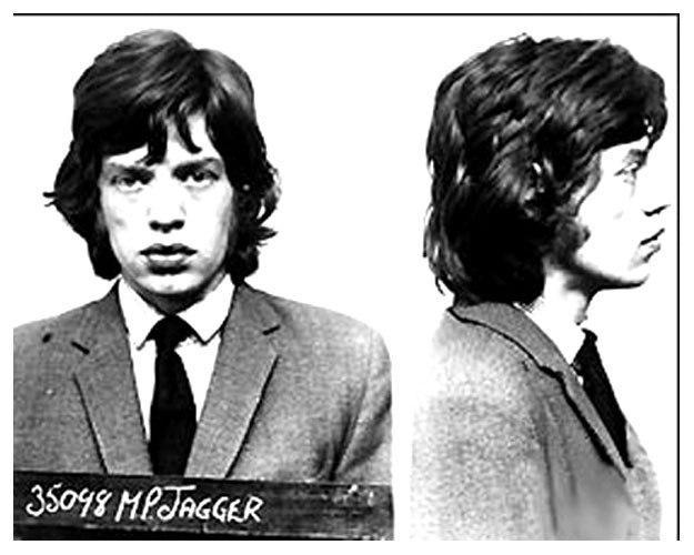 Мик Джаггер (Mick Jagger) - 1967 (незаконное хранение наркотиков)