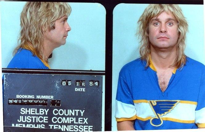 Оззи Осборн (Ozzy Osbourne) – 1984 (появление пьяным в общественном месте)