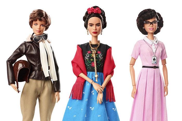 Компания «Барби» выпустила серию женщин-кумиров, которые призваны подать положительный пример девочкам