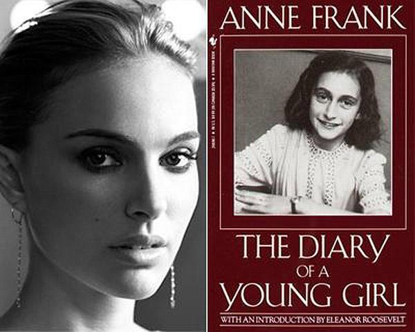 Натали Портман (Natalie Portman) — «Дневник Анны Франк».