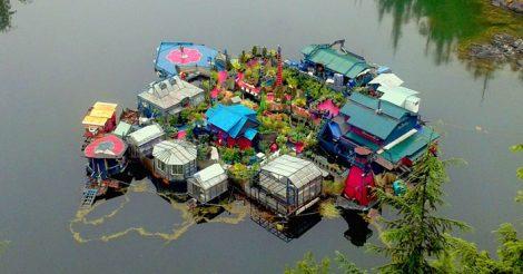 остров на воде
