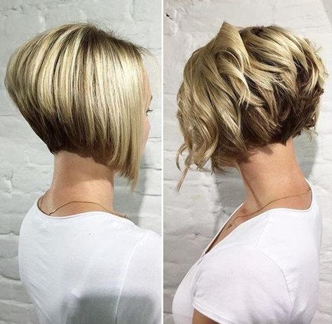 12. Подобная стрижка смотрится всегда особенно. Такие волосы можно быстро высушить и уложить.