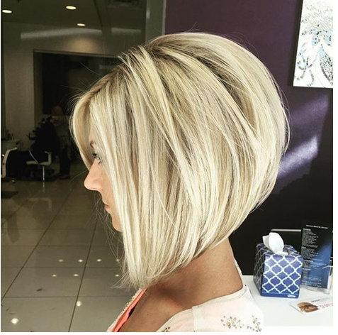 13. Если у вас редкие волосы, такая стрижка идеальный выбор, потому что придаст прическее дополнительный объем.