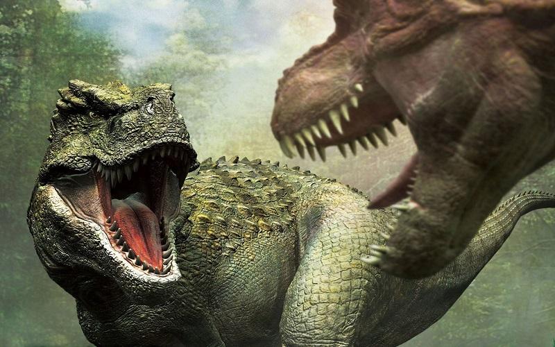 5. Тираннозавры по отношению к стегозаврам жили так же давно, как и последние по отношению к нам. У них не было шанса встретиться.