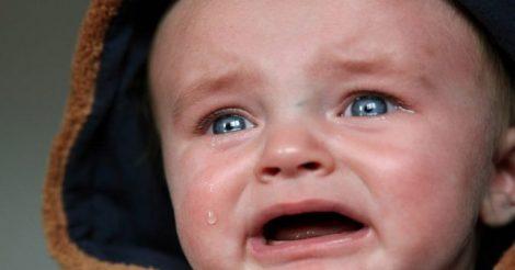 плачущего малыша
