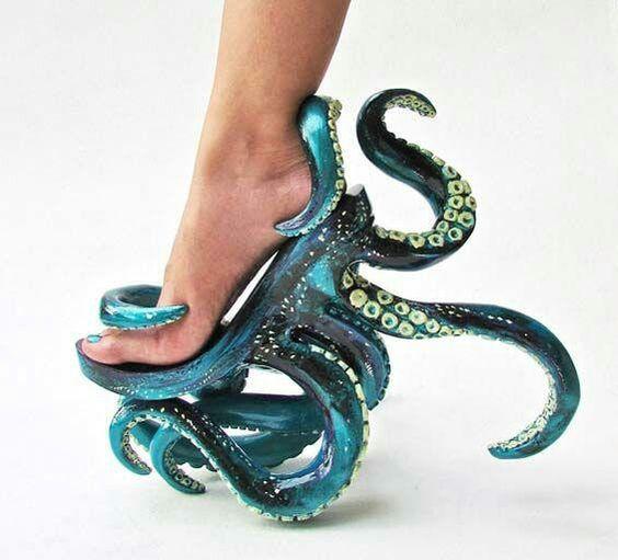 Тентакли для морской богини!