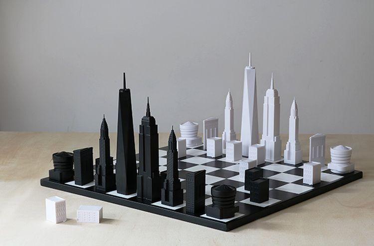 Шахматы для любителей архитектуры