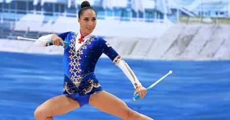 грузинская гимнастка