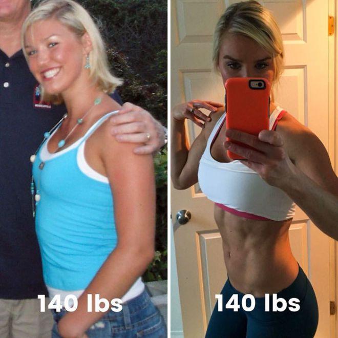 13. Каждый, у кого фигура трансформировалась не будет переживать насчет своего веса, если он полностью доволен собственным отражением в зеркале.