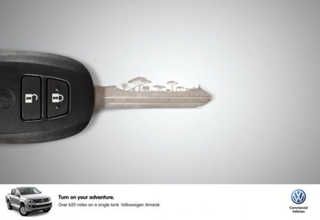 С Volkswagen можно «зажечь приключения»