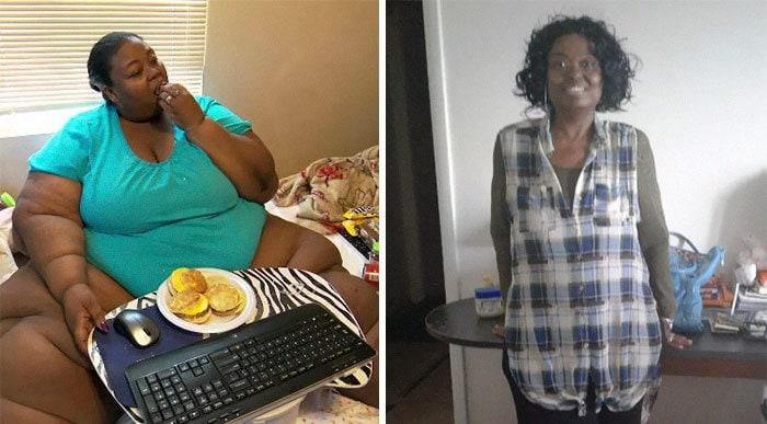 3. Марла Мкэнтс весила 362 кг, а сейчас похудела до 136 кг