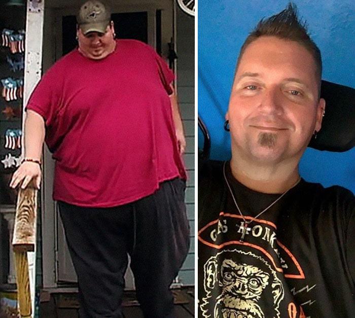 4. Дональд Шелтон весил 306 кг, а похудел до 133 кг