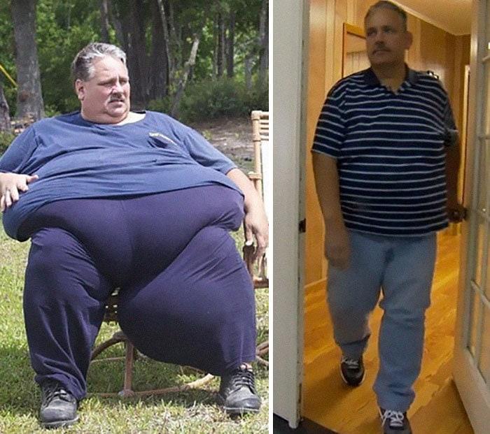 6. Чак Тернер весил 314 кг, а сейчас 196 кг