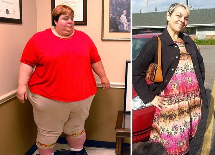 10. Паула Джонс весила 250 кг, а сейчас похудела до 122 кг