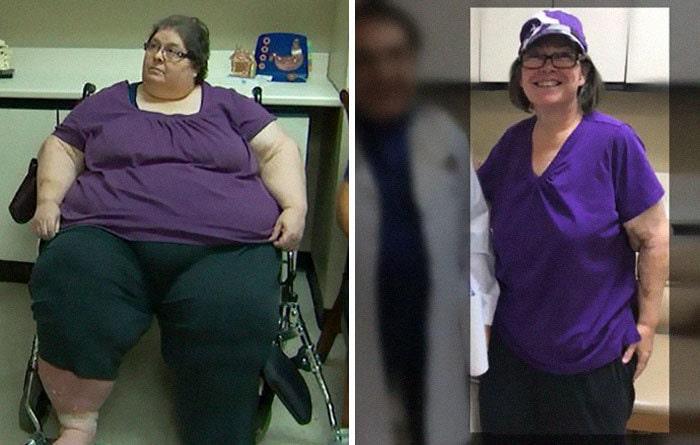 12. Диана весила 272 кг, а похудела до 101 кг