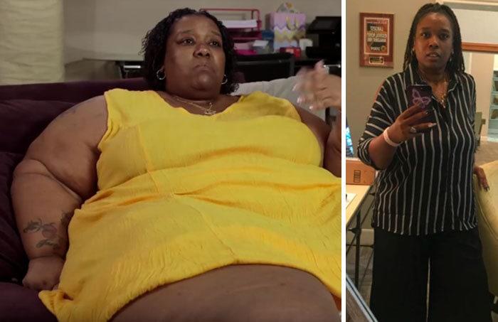 14. Джун Маккамея весила 272 кг, а похудела до 167 кг