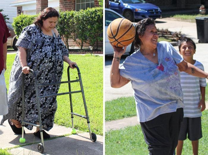 16. Оливия Круз весила 263 кг, а похудела до 90 кг
