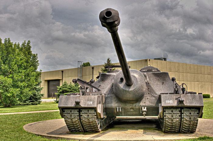 Американский тяжелый Т-28 Turtle