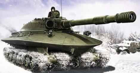 огромных танков