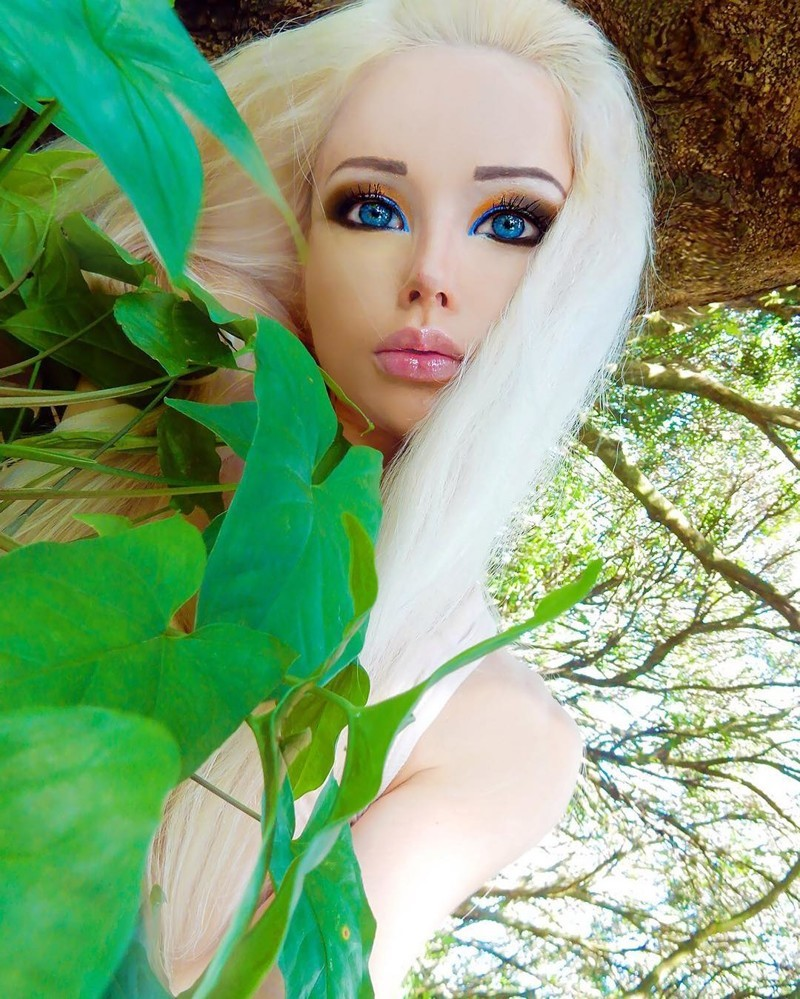 Reallife Barbie Doll Valeria Lukyanova has stepped back into the public eye after a sixmonth hiatus with a racy new photo shoot The 29yearold Ukrainian model