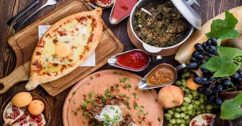 Грузинская кухня: 4 блюда