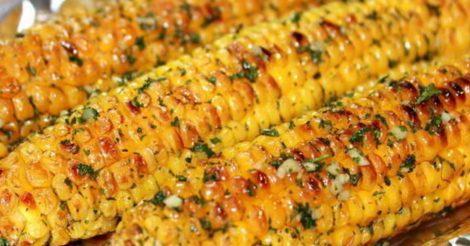 запечь в духовке кукурузу