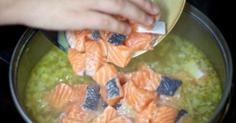 Финский суп с красной рыбой