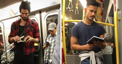 фото читающих парней