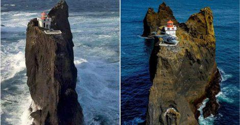 Исландский маяк Тридрангар