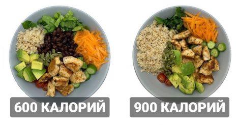 Два похожих блюда