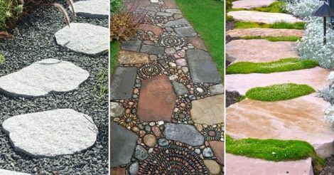 Идеи для дорожки в саду