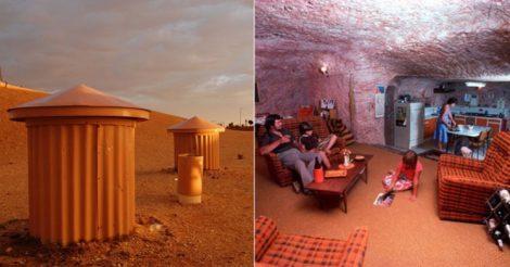 Подземный город в пустыне Австралии